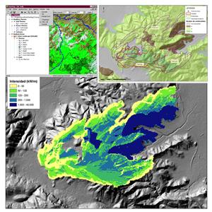 Simulación de Incendios con datos LiDAR y su aplicación en planificación forestal